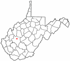 Location of Elkview, West Virginia