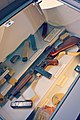 WW2 US .45 calibre Thompson M1A1 submachin gun, ammunition magazines etc Sainte-Mère-Église Airborne Museum August 2019 - 48698307631.jpg