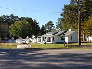 New Hill Historic District historic district located at New Hill, North Carolina
