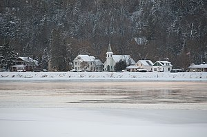 Wakefield, Quebec - Wakefield in winter