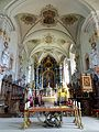 Waldkirch, Stiftskirche St. Margarethen, Innenansicht, Blick nach Osten 7.jpg