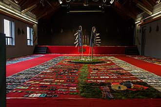 Missing and murdered Indigenous women - Walking with Our Sisters exhibition in the Shingwauk Auditorium at Algoma University in 2014