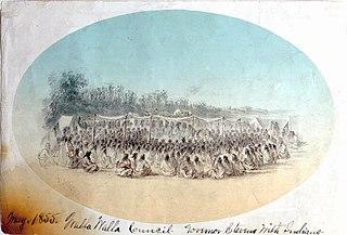 Walla Walla Council (1855)
