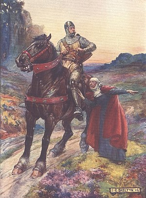 William Wallace - Wallace depicted in a children's history book from 1906