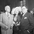 Walter Joseph Donnelly, Maria Jeritza und Egon Hilbert 1951 OeNB 684778.jpg
