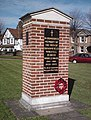 War Memorial, Broomfield - geograph.org.uk - 364135.jpg