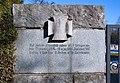 War cemetery for World war I in Marchtrenk, Upper Austria, Austria-entrance-wall left PNr°0640.jpg