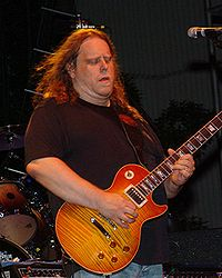 Warren Haynes mit The Allman Brothers Band, 2006 in Birmingham