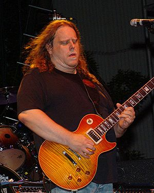 Warren Haynes with The Allman Brothers Band at...
