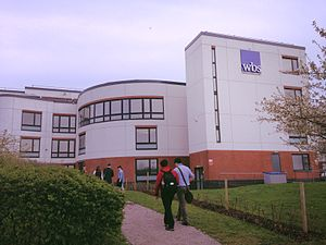Warwick Business School - WBS view from Scarman road