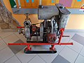 Water pump inside Eger Fire Station, 2016 Hungary.jpg