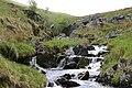 Waterfall in Mosedale Beck - geograph.org.uk - 174661.jpg