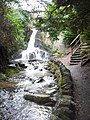 Waterfall in Wilton Lodge Park - geograph.org.uk - 1199108.jpg