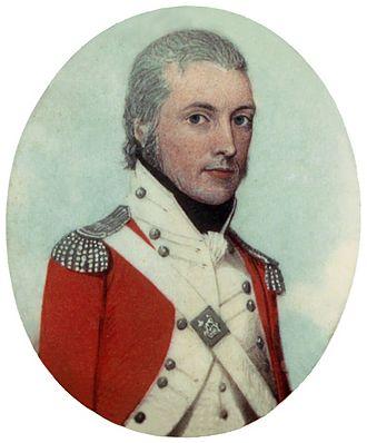 Watkin Tench - Portrait of Watkin Tench