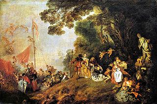 Einschiffung nach Kythera (Jean-Antoine Watteau)