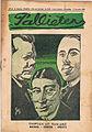 Weekblad Pallieter - voorpagina 1923 45 tryptiek uit rijnland mathes dorten smeets.jpg