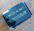 Wees slim gebruik Glim presse papier pic2.JPG