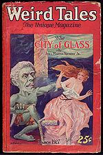 Weird Tales cover image for March 1927