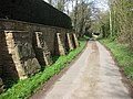 Well-buttressed wall - geograph.org.uk - 1802205.jpg