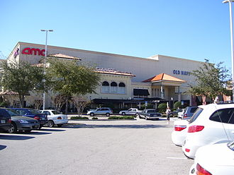 WestShore Plaza - The southeast entrance to the mall.