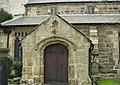 West Door, All Saints Church, Barwick-in-Elmet - geograph.org.uk - 140458.jpg