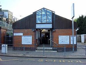 West Harrow tube station - Image: West Harrow tube station 2