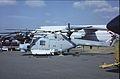 Westland WG-13 Lynx HAS3S ZD249 - 637 Royal Navy, Farnborough UK, September 1988. (5589833082).jpg