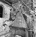 Westmuur zuiderdwarsarm na sloop van het stovenhok - Utrecht - 20232970 - RCE.jpg