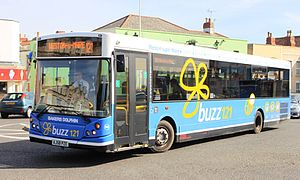 MCV Evolution - Image: Weston super Mare Locking Road Bakers 96 (AJ58PZE)