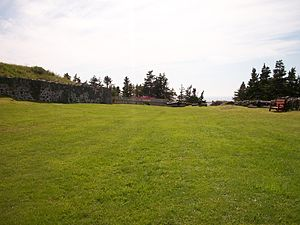 Fort Royal (Newfoundland) - Image: Whats left of the ruins