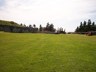 Fort Royal (Newfoundland) - Ruins of the fort