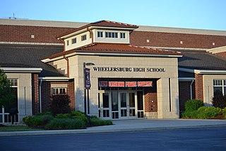 Wheelersburg High School Public high school in Wheelersburg, Ohio, United States