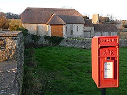 Whitcombe, postbox No. DT2 66 - geograph.org.uk - 1093719.jpg