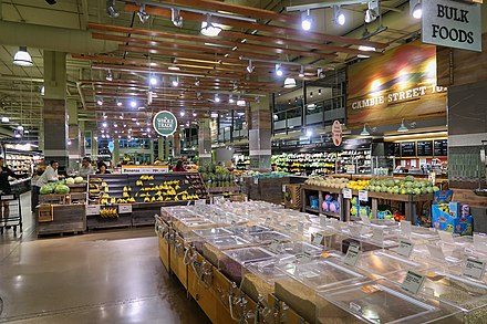 Whole Foods Market in Vancouver, Canada Whole Foods Market Vancouver Broadway Store Interior 2018.jpg