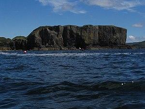 Wiay, Skye - Wiay cliffs