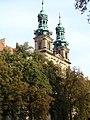 Wieże opactwa cystersów w Lubiążu.JPG