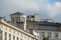 Wieżowy Punkt Obserwacyjny na kamienicy Jana Łaskiego przy pl. Unii Lubelskiej w Warszawie.jpg