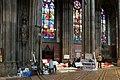 Wien - Votivkirche; Protestaktion Flüchtlinge und Antifa-Aktivisten.JPG