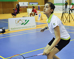 Carolina Marín - Carolina Marín at 2014 Spanish National Championships in Jaén