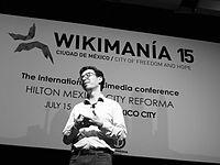 Wikimanía 2015 - Day 4 - Luis von Ahn conference - LMM (31).jpg