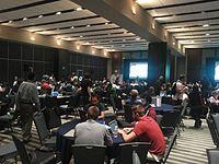 Wikimania 2015-Wednesday-Hackathon (3).jpg