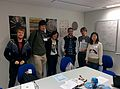 Wikipedia editathon at the Natural History Museum with Imperial College Wikipedia Society and ONS staff.jpg