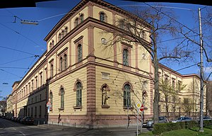 Wilhelmsgymnasium (Munich) - Image: Wilhelmsgymnasium
