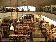 Blick in die Stadtbücherei