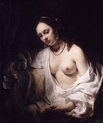 Willem Drost: Bathsheba with King David's Letter