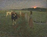 William Edward Stott (1859-1918) - Cambiando los pastos - N03670 - National Gallery.jpg