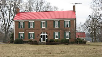 National Register of Historic Places listings in Edmonson County, Kentucky - Image: William Ford House