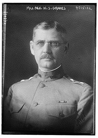 William S. Graves - Graves in 1918