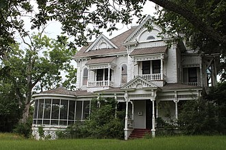 National Register of Historic Places listings in Anderson County, Texas - Image: William and Caroline Broyles House