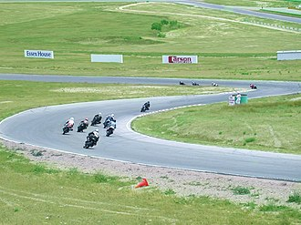 Willow Springs International Motorsports Park - A downhill section of the big track.